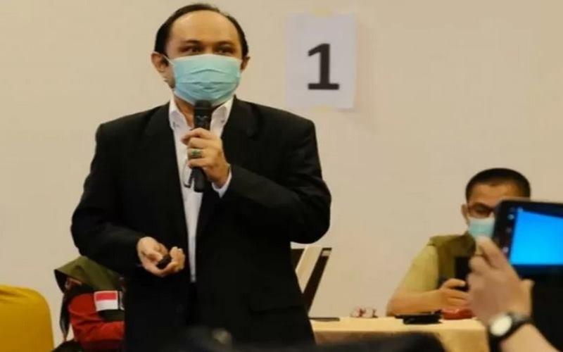 Epidemiolog dari Fakultas Kesehatan Unhas Profesor Ridwan Amiruddin. - Antara
