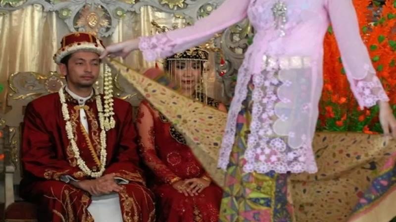 Ilustrasi pernikahan. - Antara