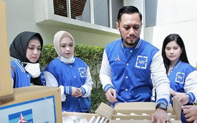 AHY menitipkan sumbangan perlengkapan kesehatan untuk para petugas kesehatan di rumah sakit rujukan di DKI - Instagram@agusyudhoyono