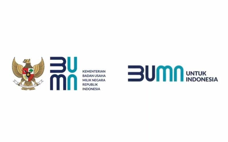 Logo Kementerian BUMN yang baru. - Istimewa