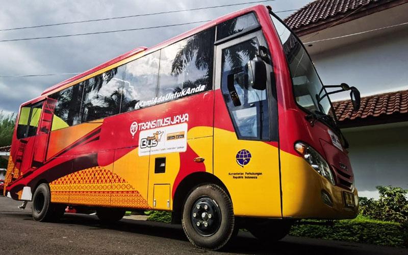 Teman Bus melayani warga Palembang, Sumatra Selatan. - TemanBus.com