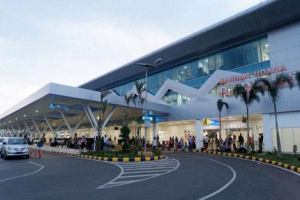 Bandara Radin Inten II di Kabupaten Lampung Selatan, Provinsi Lampung. Harga tiket pesawat termasuk pemicu inflasi Kota Bandar Lampung pada Juni 2020. - Antara