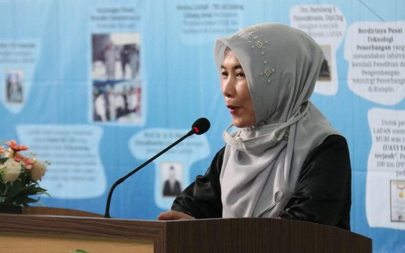 Sekretaris Lapan memberikan penjelasan soal erjasama dengan TNI AU