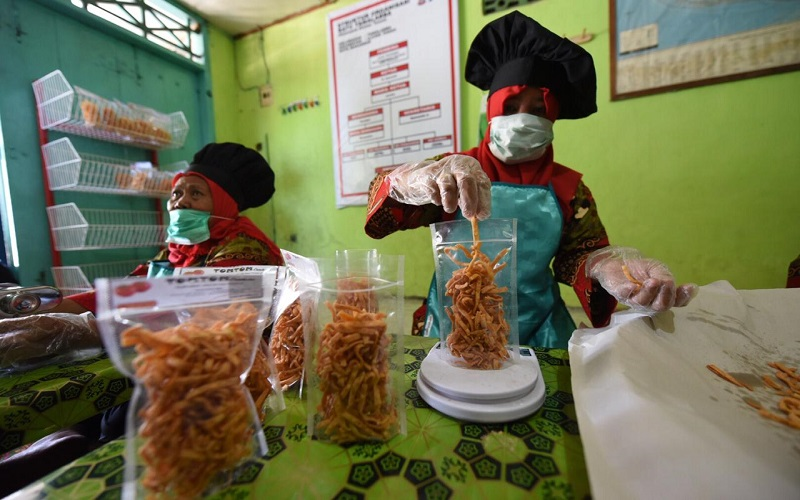 UMKM di Kelurahan Pattingalloang, Kecamatan Ujung Tana Makassar, Sulawesi Selatan