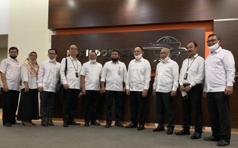 Penandatanganan kerja sama PT Asuransi Asei Indonesia dengan PT Pos Indonesia (Persero) di Jakarta, Kamis (2/7/2020) - Dokumen Perusahaan