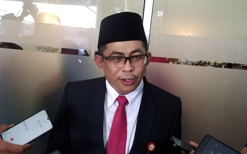 Kepala OJK Malang Sugiarto Kasmuri. - Bisnis/Choirul Anam