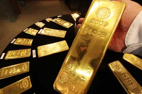 emas batangan. - bisnis