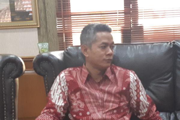 Wahyu Setiawan, saat masih menjadi Komisioner  KPU - Bisnis/Jaffry Prabu Prakoso