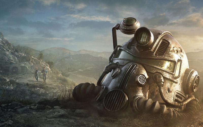 Ilustrasi gim Fallout 76 produksi Bethesda Softworks yang akan diangkat menjadi serial televisi. -  Dok. fallout.bethesda.net