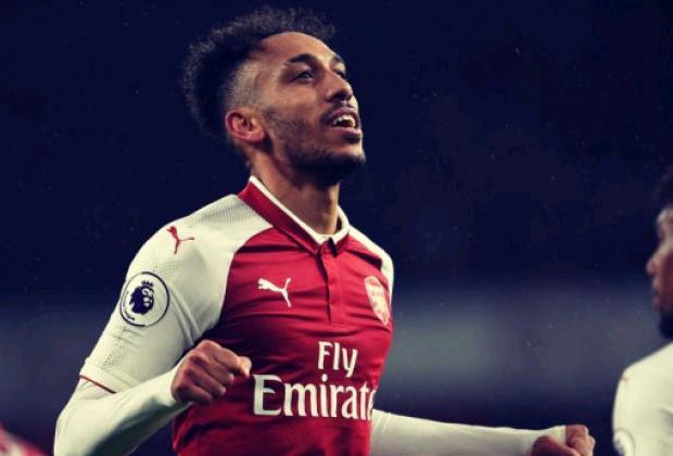 Penyerang Arsenal Pierre-Emerick Aubameyang - Reuters