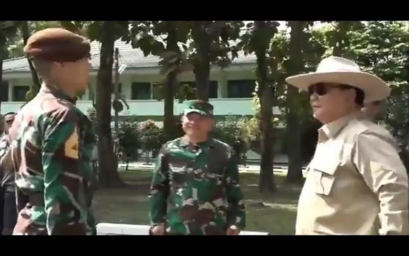 Pertemuan Prabowo dengan Enzo