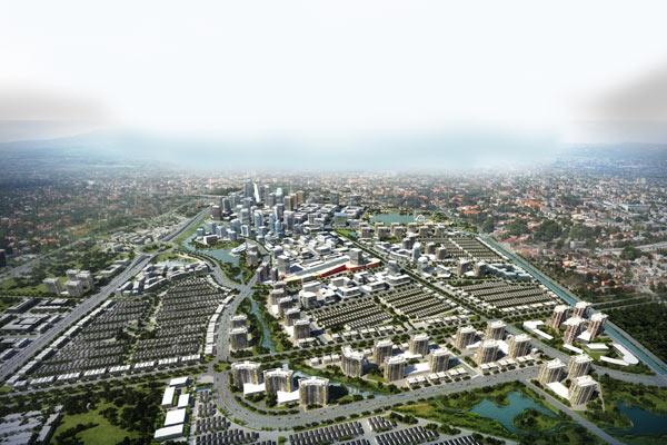 Ilustrasi: kawasan perumahan yang dikembangkan Summarecon Bandung.  - summareconbandung