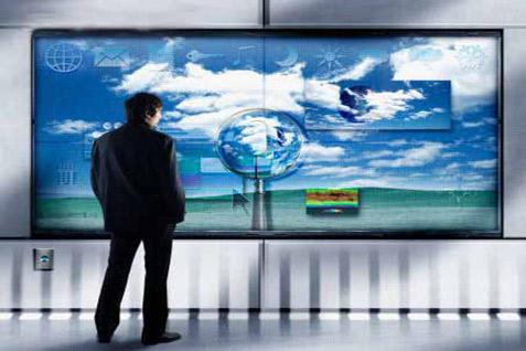 Ilustrasi televisi digital. -  istimewa