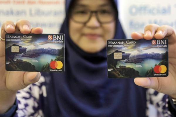 Kartu BNI ib Hasanah Card Special Design Lombok. - JIBI/Felix Jody Kinarwan