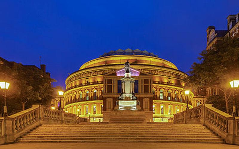 Royal Albert Hall di London. - Wikiwand