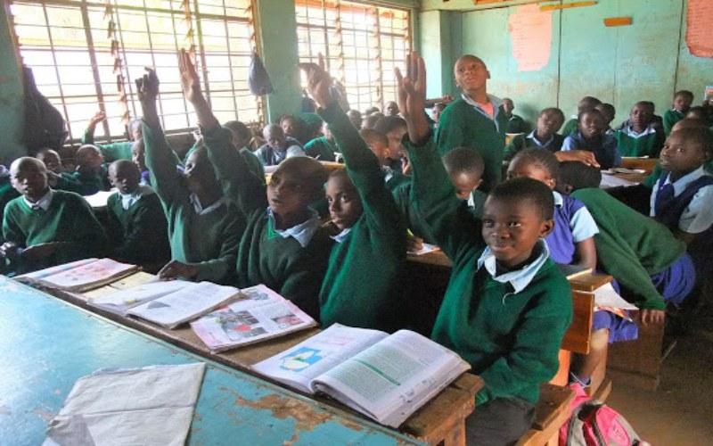 Ilustrasi sekolah di Kenya. Istimewa
