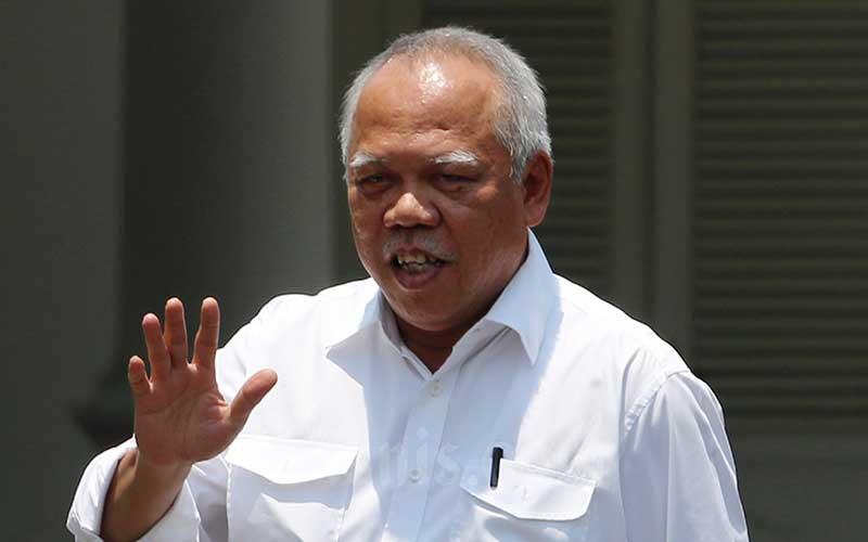 Menteri Pekerjaan Umum dan Perumahan Rakyat (PUPR) Basuki Hadimuljono. Bisnis - Abdullah Azzam