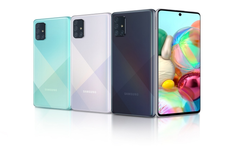 Samsung Galaxy A71. - Samsung