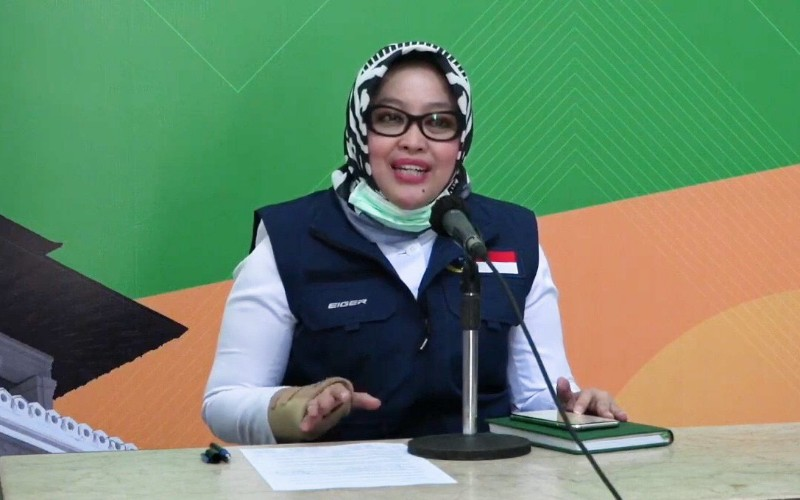 Sekretaris Dinas Kesehatan Provinsi Jabar Siska Gerfianti