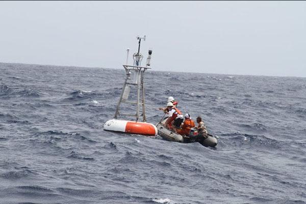 Ilustrasi alat pendeteksi tsunami. - bppt_ri