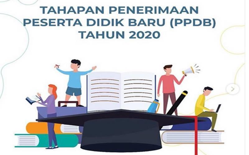 PPDB online di DKI Jakarta mulai 11 Juni hingga 10 Juli 2020. - Instagram
