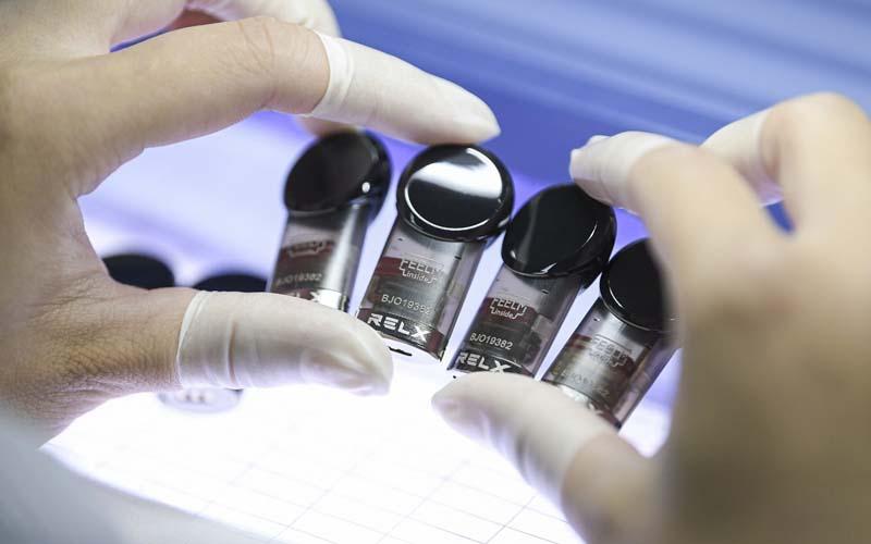 RELX merupakan salah satu produsen vape terkemuka di Asia. - Istimewa
