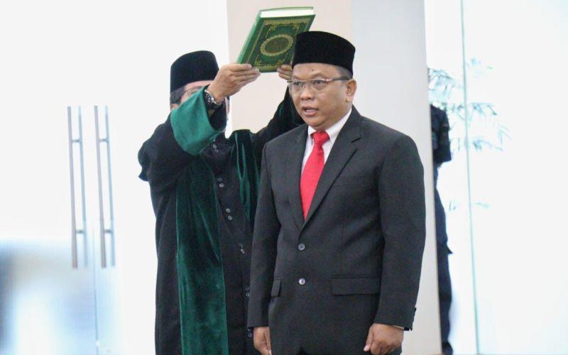 Sekretaris Jenderal Komisi Yudisial Tubagus Rismunandar Ruhijat -  Istimewa