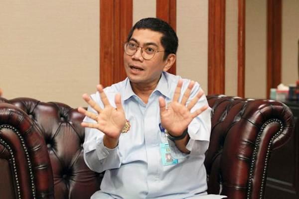 Direktur Jenderal Kekayaan Intelektual Kementerian Hukum dan Hak Asasi Manusia Freddy Harris di Jakarta, Senin (8/1). - JIBI/Dwi Prasetya