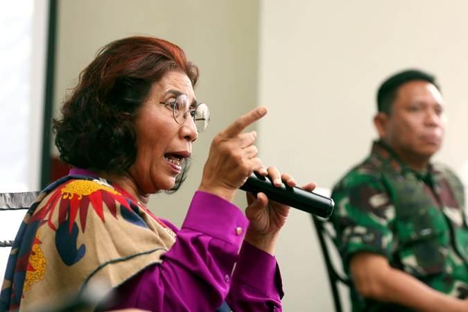 Mantan Menteri Kelautan dan Perikanan Susi Pudjiastuti / Bisnis Indonesia