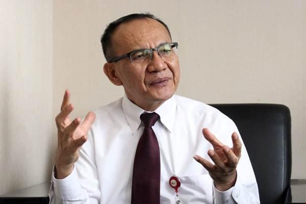 Ketua Satgas Waspada Investasi Otoritas Jasa Keuangan Tongam L. Tobing. - Bisnis/Dedi Gunawan