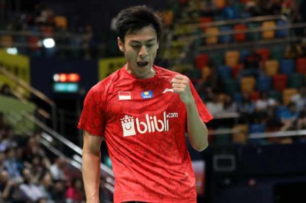 Shesar Hiren Rhustavito - Badminton Indonesia