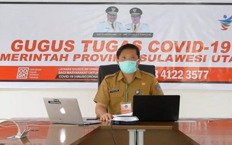 Jubir Gugus Tugas Percepatan Penanganan Covid/19 Sulut, dr Steaven Dandel.
