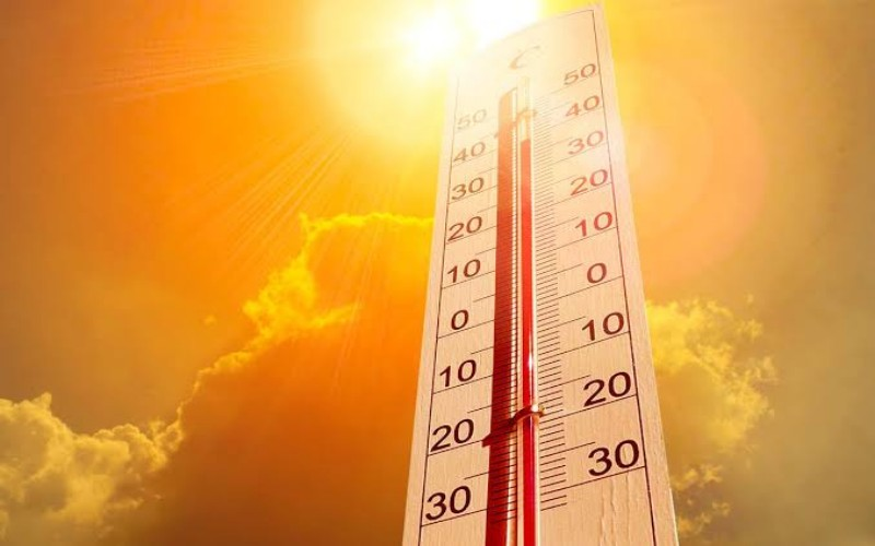Ilustrasi suhu panas - Istimewa