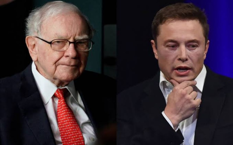 Warren Buffet dan Elon Musk