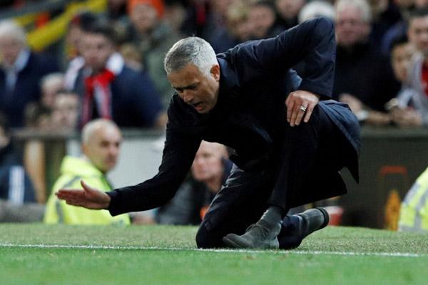 Pelatih Tottenham Hotspur asal Portugal Jose Mourinho/Reuters - Phil Noble