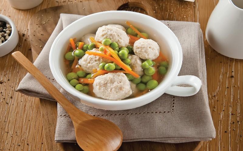 Chicken and Ricotta Dumpling Soup