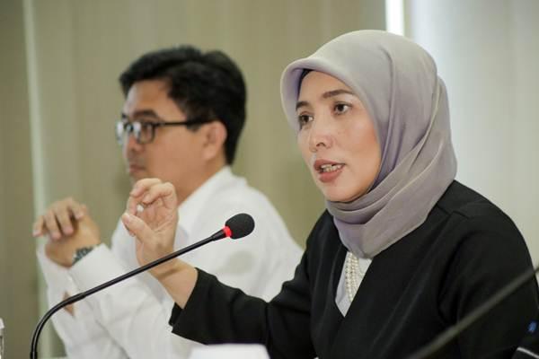 Kepala Biro Komunikasi dan Layanan Informasi Kementerian Keuangan Rahayu Puspasari. - JIBI/Felix Jody Kinarwan