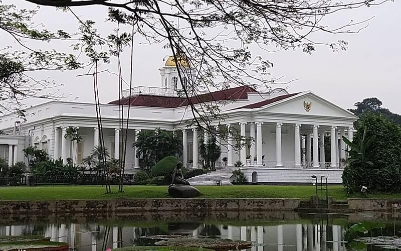 Istana Bogor di komplek Kebun Raya Bogor - Bisnis/Andhika Anggoro