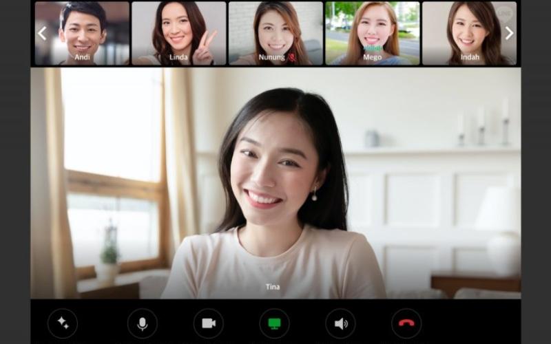 Video Call. - Antara
