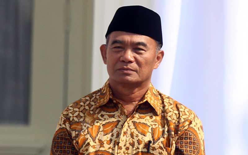 Menteri Koordinator Bidang Pembangunan Manusia dan Kebudayaan Muhadjir Effendy seusai mengikuti pelantikan menteri di Istana Negara, Jakarta, Rabu (23/10/2019). Bisnis - Abdullah Azzam