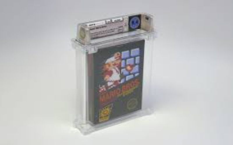 Kaset game Super Mario Bros terjual dengan harga Rp1,4 miliar. - The Verge