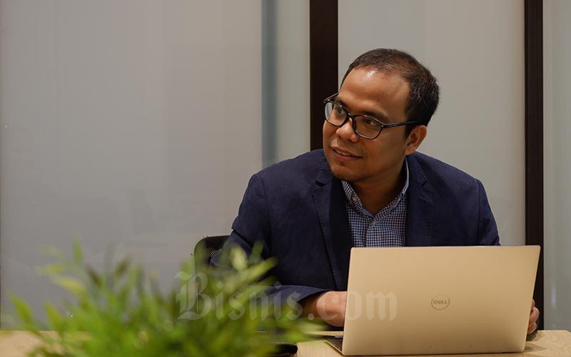Co Founder & Chief Executive Officer PT Akseleran Keuangan Inklusif Indonesia Ivan Nikolas Tambunan. Bisnis - Nurul Hidayat