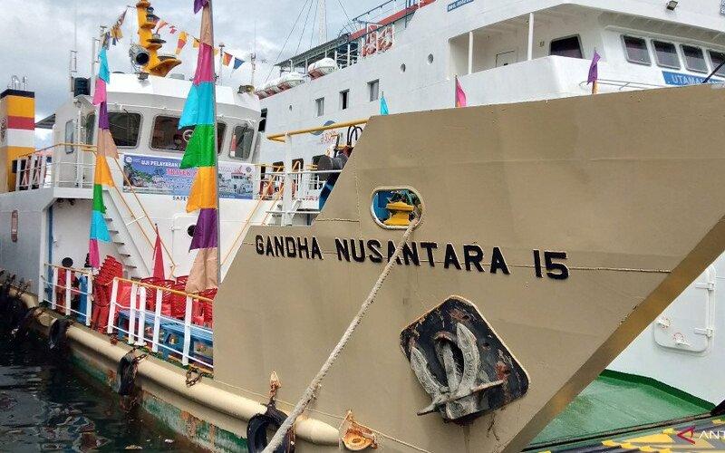 Kapal Gandha Nusantara.