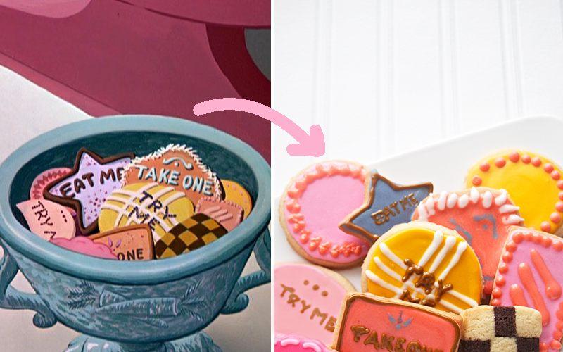 Resep Cookies Eat Me dari Alice in Wonderland bagi anak/anak