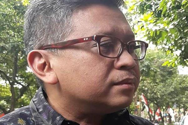 Sekjen PDIP Hasto Kristiyanto. - JIBI/Rahmad Fauzan