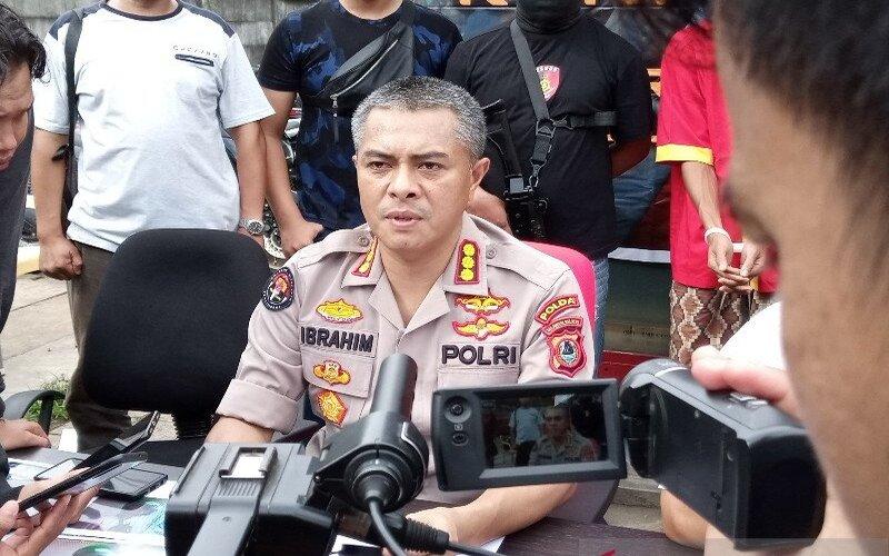 Kabid Humas Polda Sulsel Kombes Pol Ibrahim Tompo. - Antara/Muh Hasanuddin