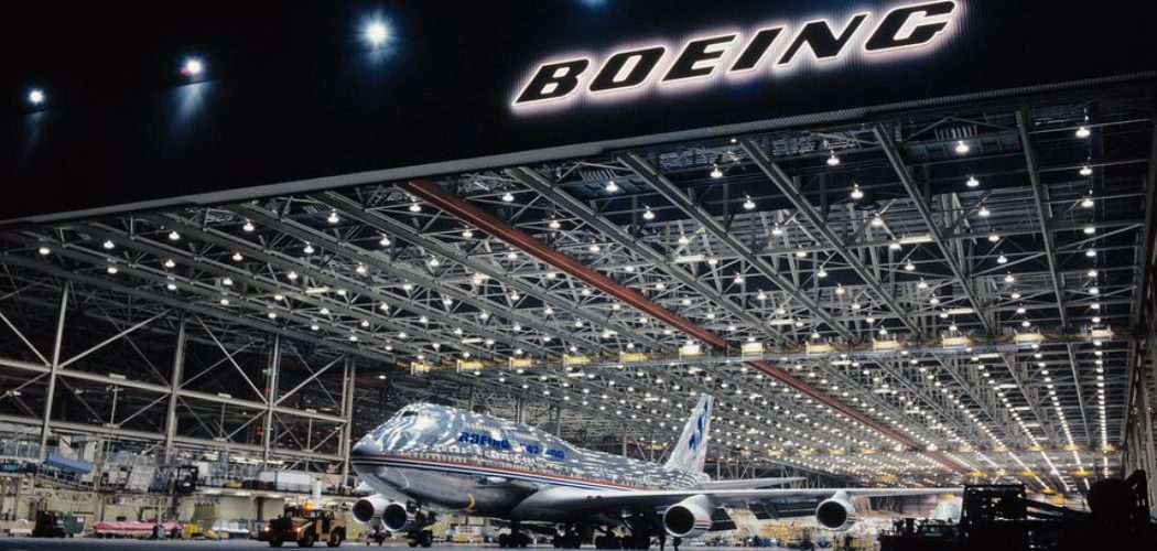 Pabrik Boeing di Everett, Washington AS.  - Dok. Boeing.