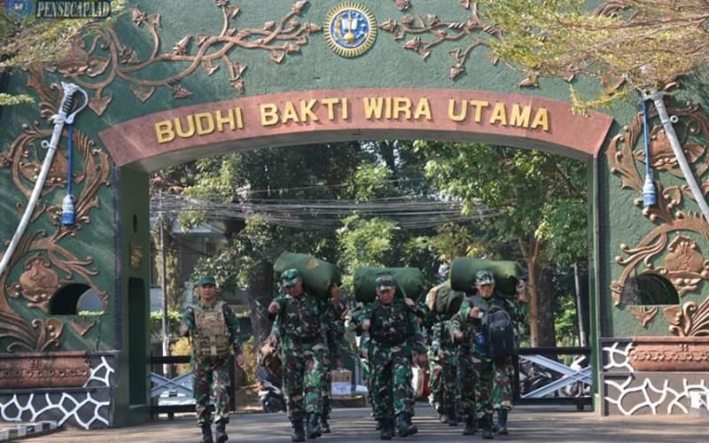 Hari Ini 1 026 Orang Positif Corona Di Secapa Tni Ad Di Bandung Kabar24 Bisnis Com