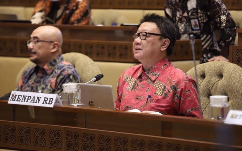 Menteri Pendayagunaan Aparatur Negara dan Reformasi Birokrasi (PANRB) Tjahjo Kumolo. - Istimewa