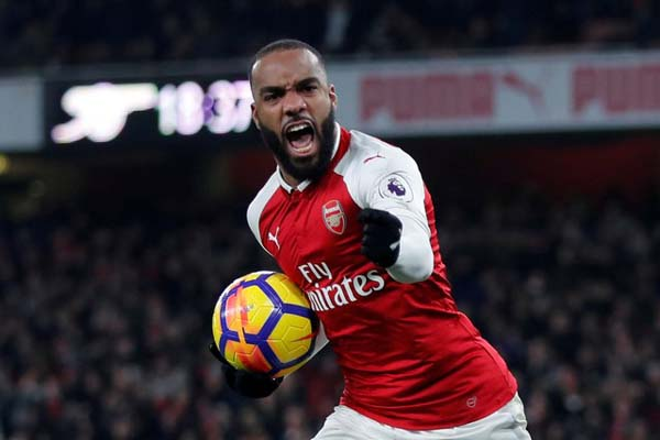 Ujung tombak Arsenal Alexandre Lacazette/Reuters - Eddie Keogh
